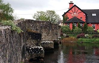 Riverstown (near Birr) - The bridge at Riverstown on the Little Brosna