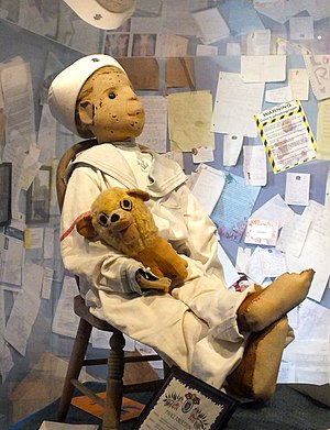 Haunted doll - Robert the doll