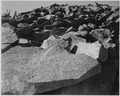 "Rock formation, ""Moraine, Rocky Mountain National Park,"" Colorado, 1933 - 1942 - NARA - 519955.tif"