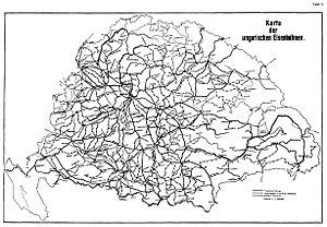 Rail transport in Hungary