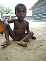 Rohinyan refugee boy, Nuh, Hariyana, India, in refugee camp.jpg