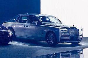 Rolls-Royce Phantom (2018) - Image: Rolls Royce Phantom, IAA 2017, Frankfurt (1Y7A1733)