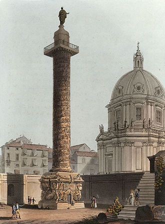 Roman Dacia - Trajan's Column (1820)