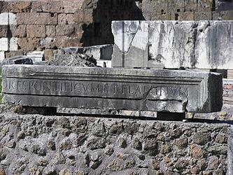 Roman Forum inscriptions.jpg