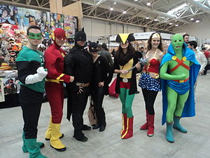 Romics - Cosplayer at Romics 2013