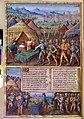 Romuleon-BnF365-fol. 33v, Mucius Scaevola et Porsena.jpg