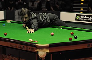 Ronnie O'Sullivan - Ronnie O'Sullivan playing in the final of the 2012 German Masters