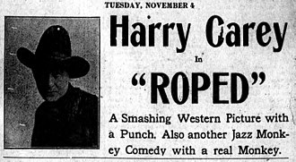 Roped - Newspaper advertisement