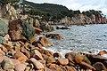 Roques platja de Canyet.JPG