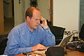 Rory Cellan-Jones on the phone-6June2008.jpg