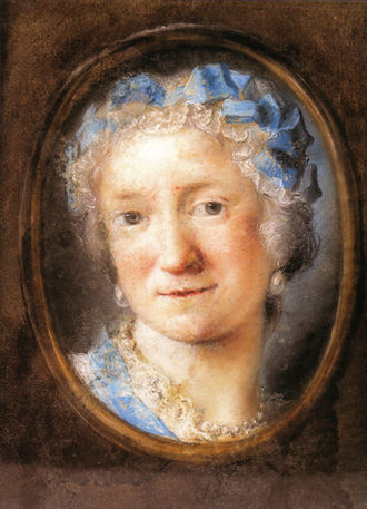 Rosalba Carriera - Image: Rosalba Carriera Self portrait 3