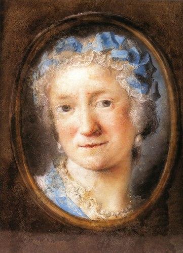 Rosalba Carriera Self-portrait3