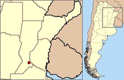 Location of Rosario