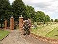 Rose garden by Colchester Castle - geograph.org.uk - 189299.jpg
