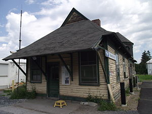 Rouses Point station - Image: Rouses Point AMTRAK