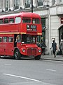 Routemaster bus on Heritage route 9, Cockspur Street, London SW1Y 29 May 2011.jpg