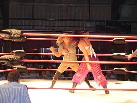 ODB in action against Roxxi. - ODB (wrestler)