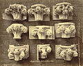Royal Architectural Museum. Plaster Casts (Capitals) from Salisbury Cathedral (3610756919).jpg
