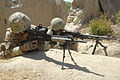 Royal Marine in Afghanistan Using L129A1 Sharpshooter Rifle MOD 45152586.jpg