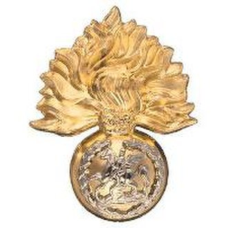 Royal Regiment of Fusiliers - The Capbadge and Hackle of the Royal Regiment of Fusiliers