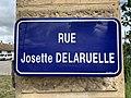 Rue Josette Delaruelle (Belley), panneau de rue.jpg