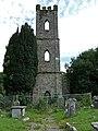 Ruined C of I Church Tower Inishannon - geograph.org.uk - 537967.jpg