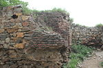 Ruined fort wall