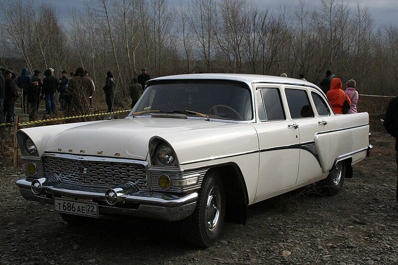 http://upload.wikimedia.org/wikipedia/commons/thumb/9/96/Russian_car_GAZ-13_Chaika.jpg/800px-Russian_car_GAZ-13_Chaika.jpg