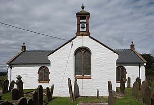 Ruthwell - Image: Ruthwell Church from the south
