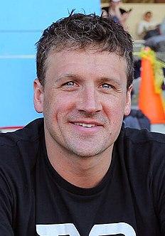 Ryan Lochte American swimmer (born 1984)