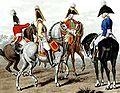 Sächsische Armee - Kavallerieoffiziere 1806.jpg