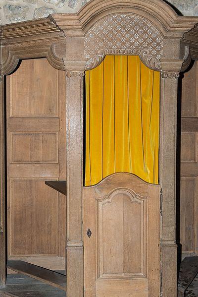 Beichtstull an der Kierch zu Sëll.