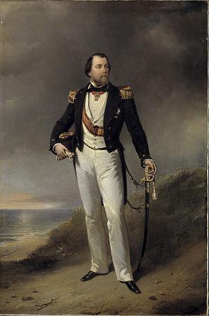William III of the Netherlands - Portrait of King William III (1859) by Nicolaas Pieneman