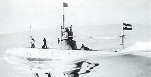 SM U-5 (Austria-Hungary) - Image: SMU 5 Erprobung