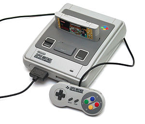 The PAL version of SNES