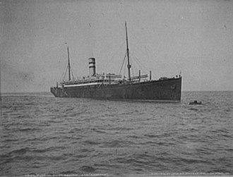 Swedish American Line - Image: SS Noordam 1903