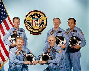 STS-51-C - Image: STS 51 C crew