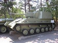 SU-76M at Sevastopol - Credits: Wikimedia commons
