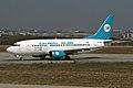 SU-KHM B737-500 Alexandria Airlines (4458153154) (3).jpg