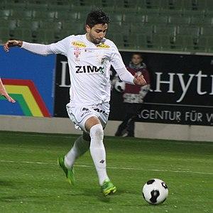 Lucas Galvão - Image: SV Mattersburg vs. SC Austria Lustenau 2013 11 22 (44)