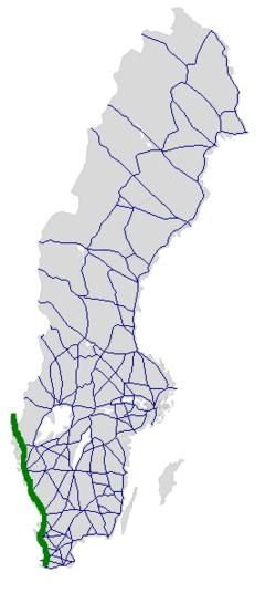 Karta E6 Goteborg.E6 Sverige Wikipedia