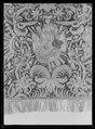 Sadeltäcke ur en serie av sex täcken tillhörande drottning Kristinas kröningskaross med trofémotiv - Livrustkammaren - 36239.tif