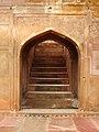 Safdarjung Tomb - staircase.JPG
