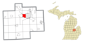 Saginaw Township South, MI location.png