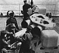 Sailors loading Squid anti-submarine mortar in 1952.jpg