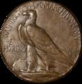 Saint-Gaudens Inaugural medal reverse(transparency).png