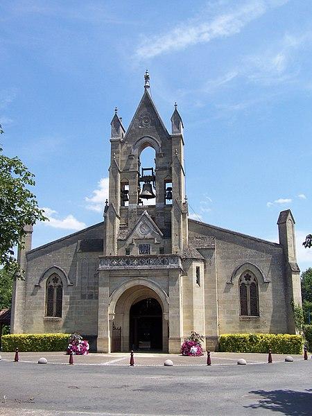 Église de Saint-Symphorien, Gironde, France