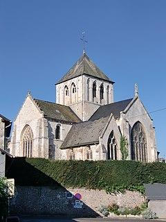 Saint-Germain-Village Part of Pont-Audemer in Normandy, France