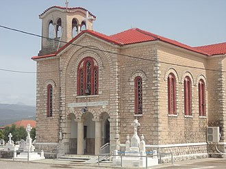 Agrinio - Saint John church in Dafnias, Agrinio, Greece