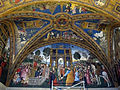 Sala dei santi, disputa di s. caterina.JPG